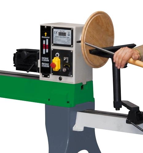 Tornio parallelo per legno con variatore di velocita for Copiatore per tornio legno autocostruito